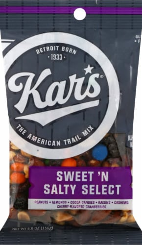 Kar's Sweet 'N Salty Select Trail Mix Perspective: front