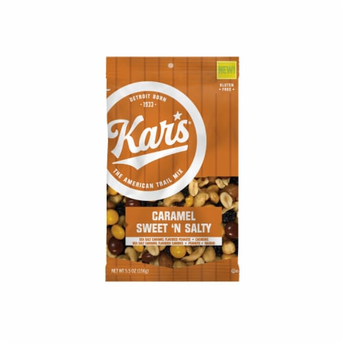Kar's Caramel Sweet 'N Salty Trail Mix Perspective: front