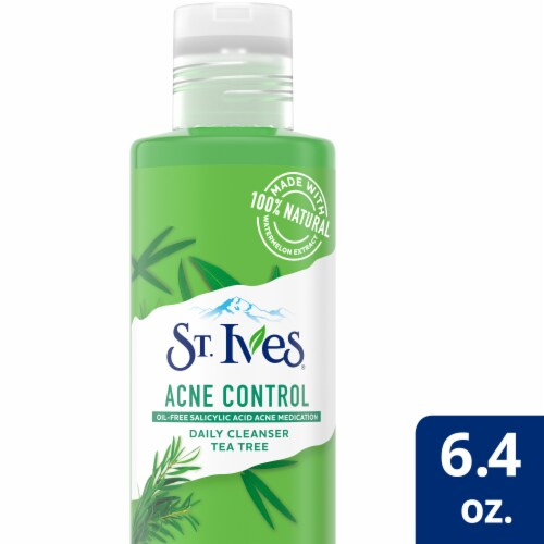 St. Ives Acne Control Tea Tree Daily Cleanser Perspective: front