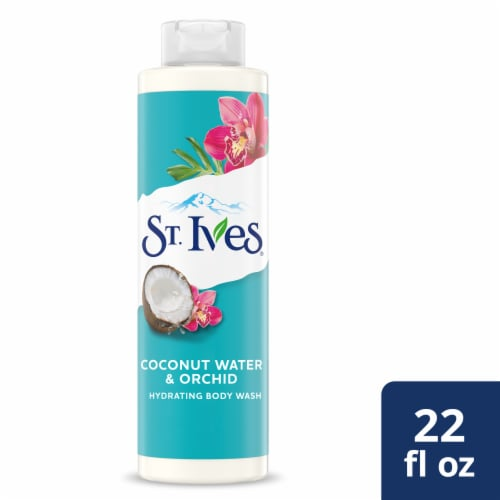St. Ives Coconut Water & Orchid Hydrating Body Wash Perspective: front