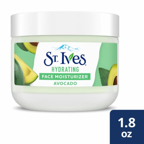 St. Ives Hydrating Avocado Face Moisturizer Perspective: front