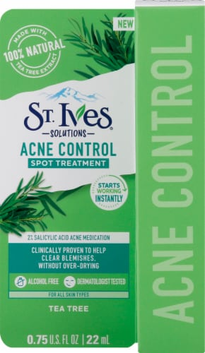 St. Ives Tea Tree Acne Control Spot Treatment Perspective: front
