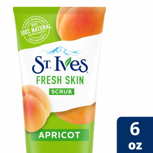 St. Ives Fresh Skin Apricot Scrub Perspective: front