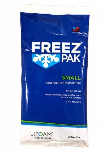 Freez Pak™ Small Reusable Ice Substitute Perspective: front