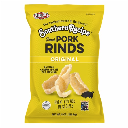 Southern Recipe Original Pork Rinds Perspective: front