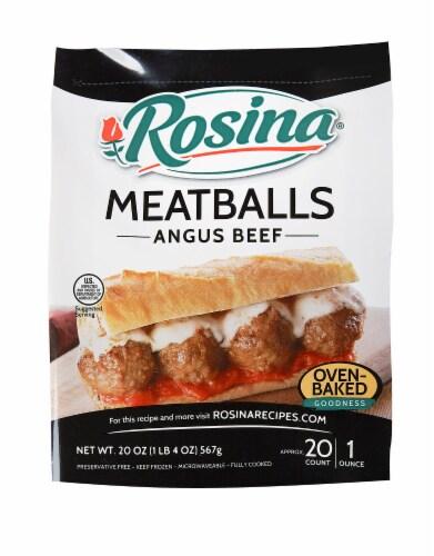 Rosina Angus Beef Meatballs Perspective: front