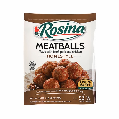 Rosina Homestyle Meatballs Perspective: front