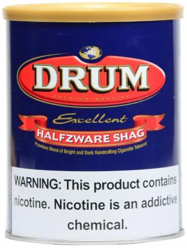 Drum Halfzware Shag Tobacco Perspective: front