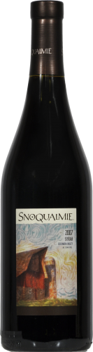 Snoqualmie Syrah Perspective: front