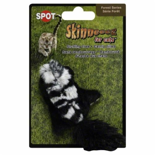 Spot Skinneeez Forest Cat Toy Perspective: front