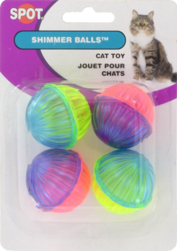 Spot Shimmer Balls Cat Toys Perspective: front