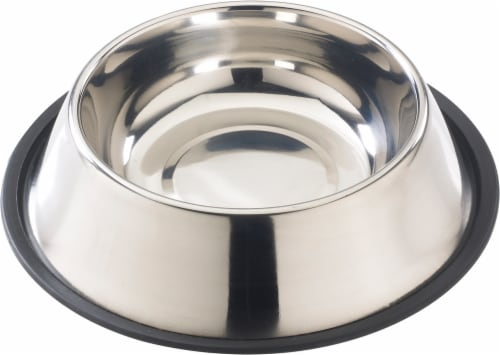 Spot Stainless Steel Pet Dish Perspective: front