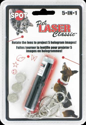Spot Pet Laser Perspective: front