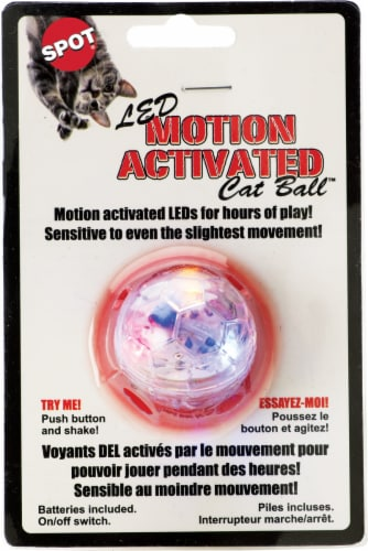 Spot LED Motion Activated Cat Ball Perspective: front