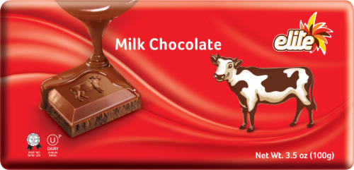 Elite Milk Chocolate Bar Perspective: front