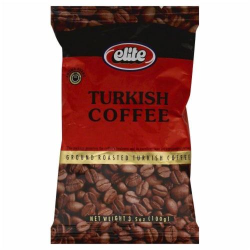 Elite Turkish Ground Coffee Perspective: front