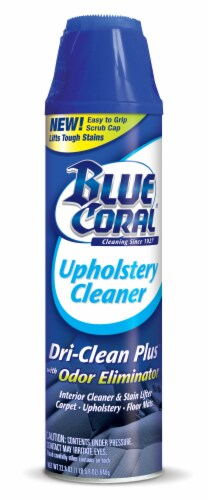 Blue Coral Upholstery Cleaner Perspective: front