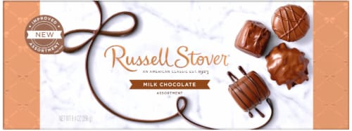 Russell Stover Milk Chocolate Candy Assortment Perspective: front
