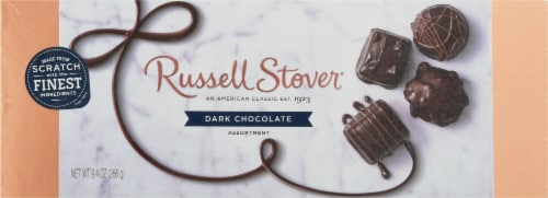Russell Stover Dark Chocolate Assortment Perspective: front