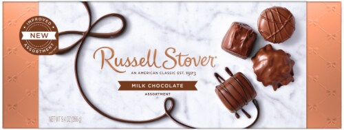 Russell Stover Milk Chocolate Assortment Perspective: front