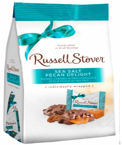Russell Stover Sea Salt Pecan Delight Mini Gusset Bag Perspective: front
