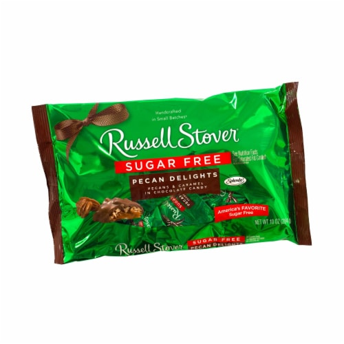 Russell Stover Sugar Free Pecan Delights Perspective: front