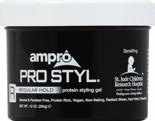 Ampro Pro Styl Regular Hold Protein Styling Gel Perspective: front