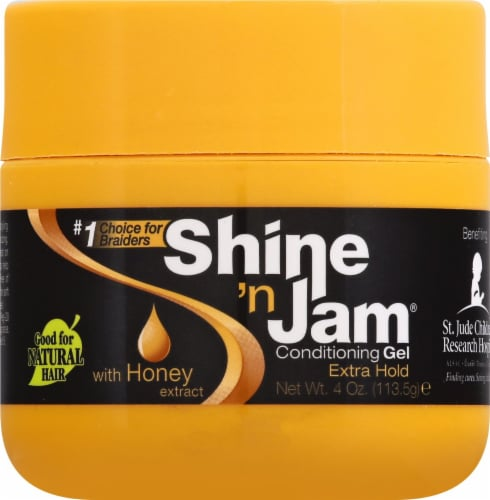 Ampro Shine 'n Jam Extra Hold Conditioning Gel Perspective: front