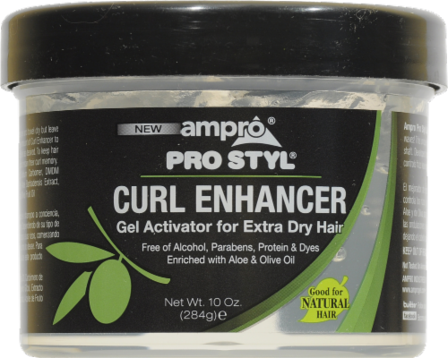 Ampro Pro Style Xtra Dry Curl Enhancer Perspective: front