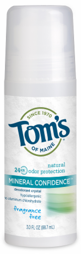 Toms Of Maine Mineral Confidence Fragrance Free Deodorant Perspective: front