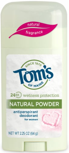 Tom's of Maine Natural Powder Antiperspirant Deodorant for Women Perspective: front