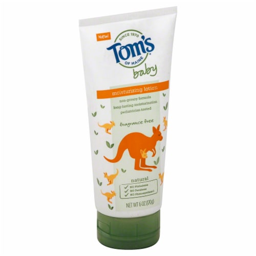 Tom's of Maine Baby Natural Moisturizing Lotion Perspective: front