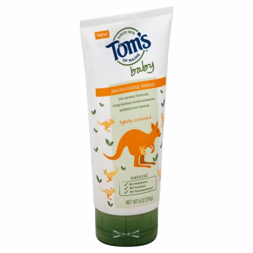 Tom's of Maine  Baby Moisturizing Lotion Perspective: front