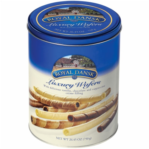 Royal Dansk Luxury Wafers Perspective: front