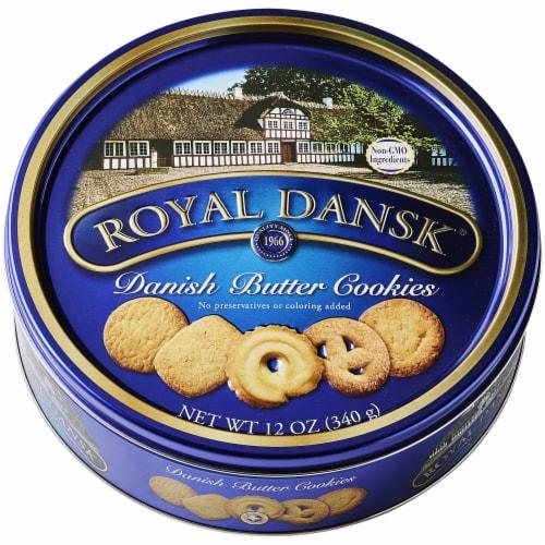 Royal Dansk® Danish Butter Cookies Perspective: front