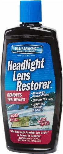 Blue Magic Headlight Lens Restorer Perspective: front