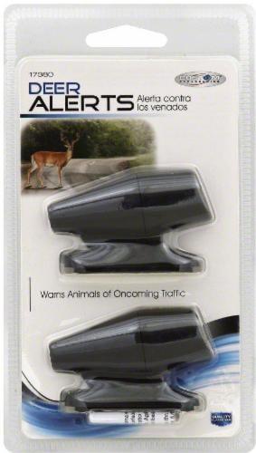 Custom Accessories Deer Alerts - Black Perspective: front