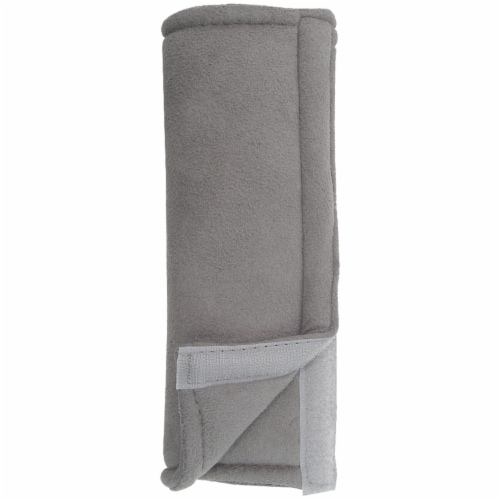 Custom Accessories Seat Belt Pad - Gray Perspective: front