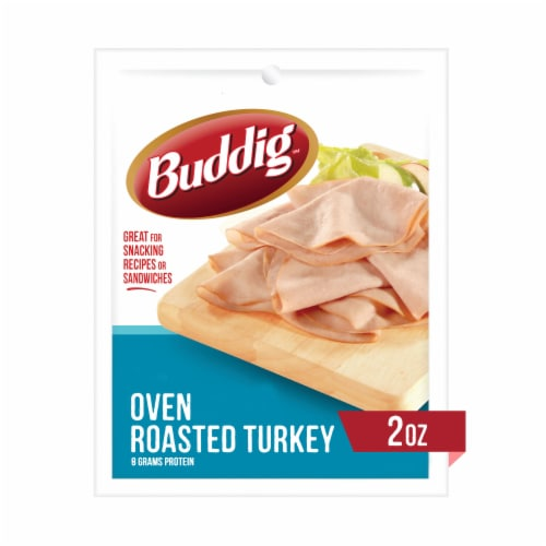 Buddig Oven Roasted Turkey Perspective: front
