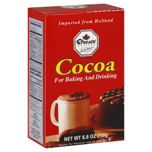 Droste Pastilles Cocoa Powder Perspective: front