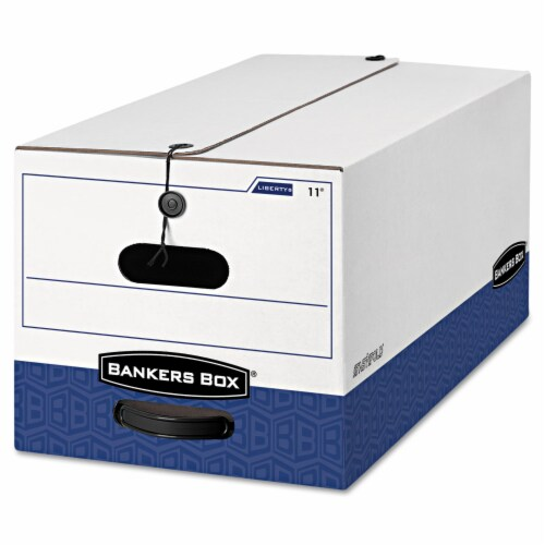 Bankers Box Box,Stor,12x10x24,Ctn12 00011 Perspective: front