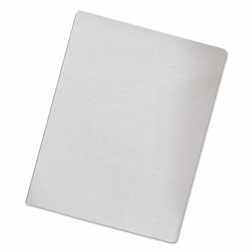 Fellowes Cover,Bnd,Ovsz,200pk,Wht 52137 Perspective: front