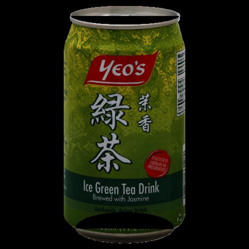 Yeo's Ice Green Tea Drink Perspective: front