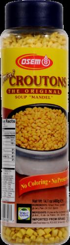 Osem Original Mini Mandel Mini Croutons Perspective: front