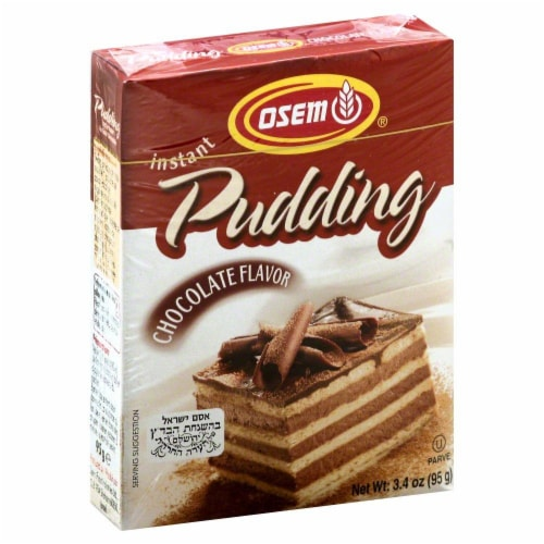 Osem Chocolate Instant Pudding Perspective: front