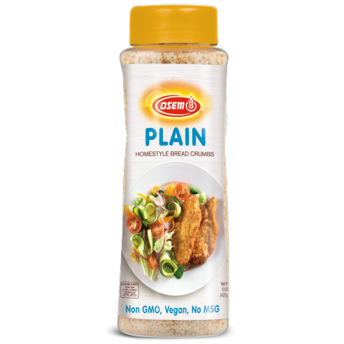 Osem Plain Homestyle Bread Crumbs Perspective: front