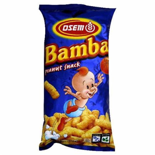 Osem Bamba Peanut Snack Perspective: front