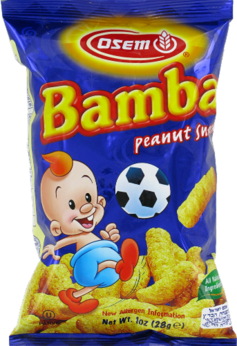Osem Bamba Peanut Snack Perspective: front
