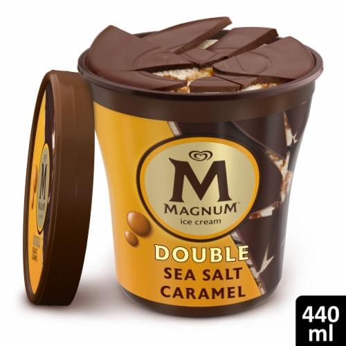 Magnum Double Sea Salt Caramel Ice Cream Perspective: front
