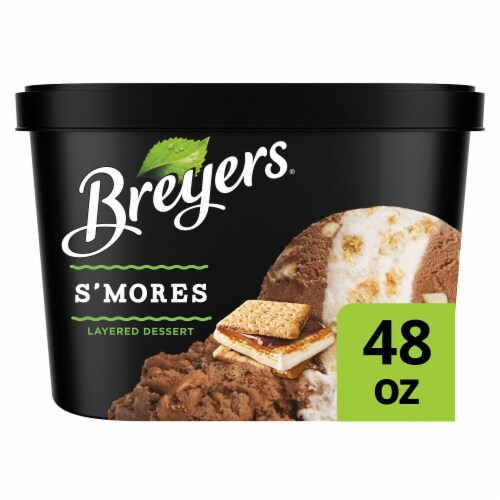 Breyers S'mores Layered Frozen Dairy Dessert Perspective: front